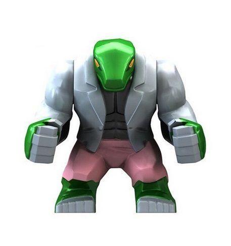 Boneco Homem Lagarto Lego Compatível - Marvel (Big Figure)