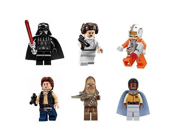 Kit Star Wars clássico Lego Compatível c/6