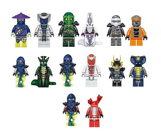 Kit Ninjago Lego Compatível c/ 14 - Fusion Armor