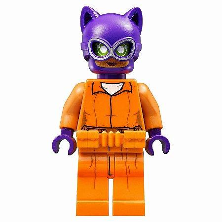 Boneco Mulher Gato Prisioneira Lego Compatível - Dc Comics (Edição Especial)