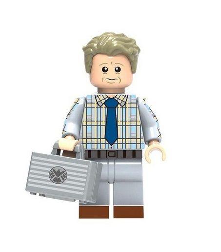 Boneco Erik Selvig Lego Compatível - Marvel (Vingadores)