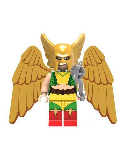 Boneco Mulher Gavião Lego Compatível - Dc Comics (Edição Especial)
