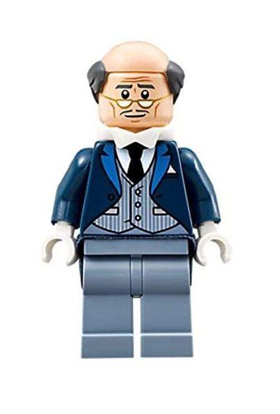 Boneco Alfred Lego Compatível - Dc Comics
