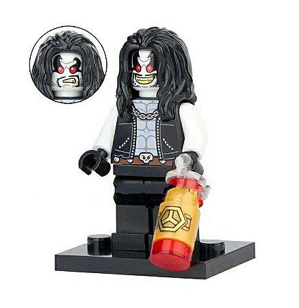 Boneco Lobo Lego Compatível - Dc Comics (Edição Especial)