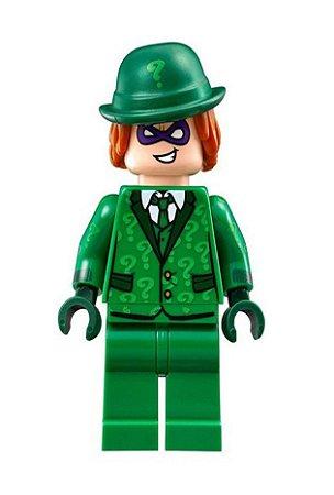 Boneco Charada Lego Compatível - Dc Comics