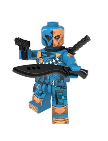 Boneco Slade Wilson Exterminador Lego Compatível - Dc Comics