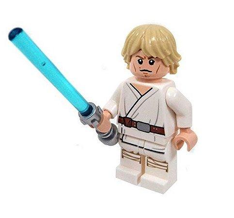 Boneco Luke Skywalker Star Wars Lego Compatível (Edição Especial)