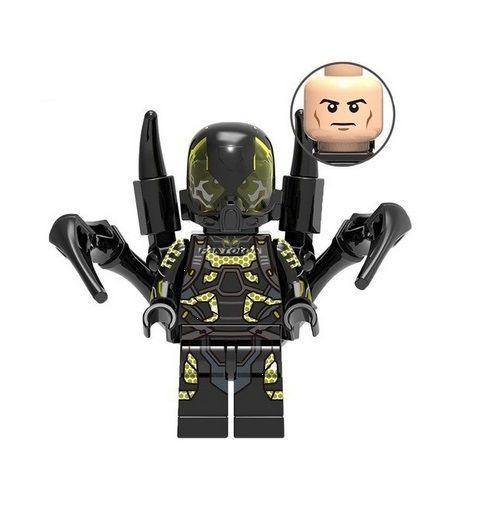 Boneco Jaqueta Amarela Lego Compatível - Marvel (Edição Especial)