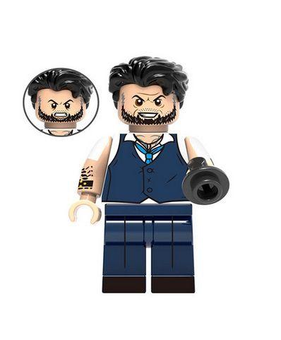 Boneco Ulysses Klaw Lego Compatível - Marvel