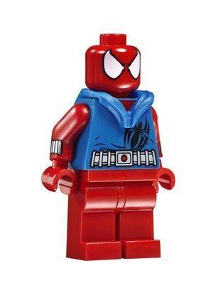 Boneco Aranha Escarlate Lego Compatível - Marvel