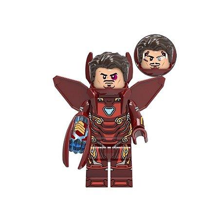 Boneco Homem de Ferro Bleeding Egde Lego Compatível - Marvel (Edição Deluxe)