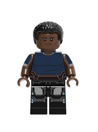 Boneco James Rhodes Lego Compatível - Marvel