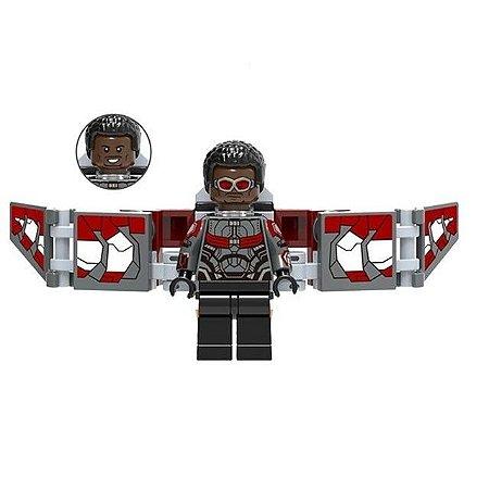 Boneco Falcão Lego Compatível - Marvel (Edição Deluxe)
