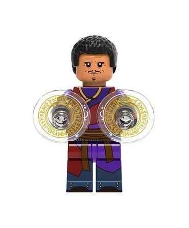 Boneco Wong Lego Compatível - Marvel