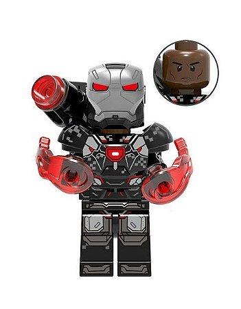 Boneco Máquina de Combate Lego Compatível - Marvel (Edição Deluxe)