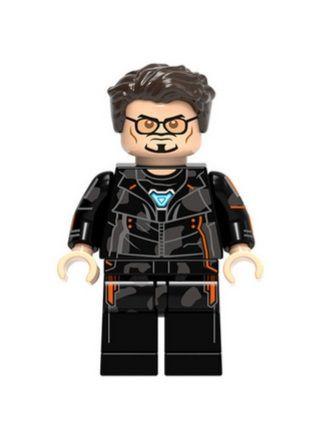 Boneco Tony Stark Vingadores Guerra Infinita Lego Compatível - Marvel (Edição Especial)