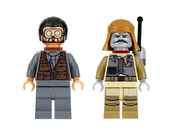 Boneco Bodhi Rook e Pao Star Wars Lego Compatível (Rogue One)