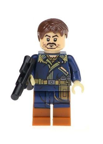 Boneco Cassian Andor Star Wars Lego Compatível (Rogue One)