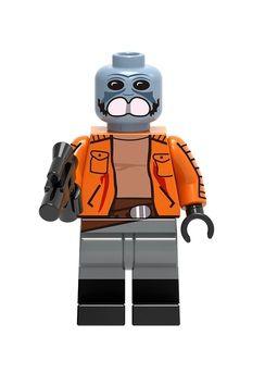 Boneco Ponda Baba Star Wars Lego Compatível