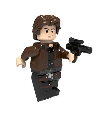 Boneco Han Solo Jovem Star Wars Lego Compatível (Edição Especial)