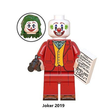 Boneco Coringa Lego Compatível - Dc Comics (Joaquin Phoenix com Duas Cabeças - Edição Deluxe)