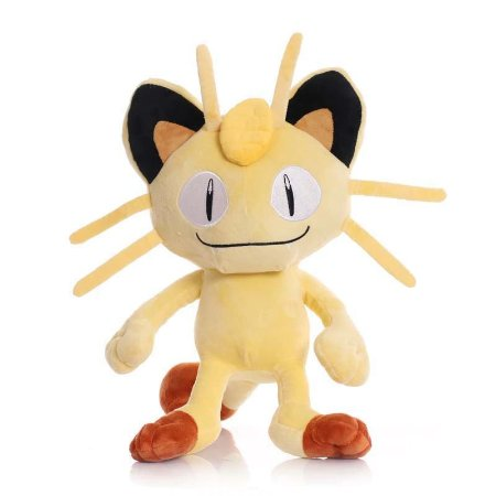 Pelúcia Meowth 25 Cm - Pokémon