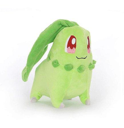 Pelúcia Chikorita 20 Cm - Pokémon