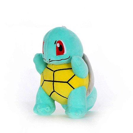 Pelúcia Pokémon Squirtle 21 Cm