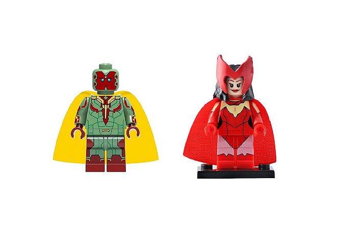 Kit Wanda Vision Lego compatível