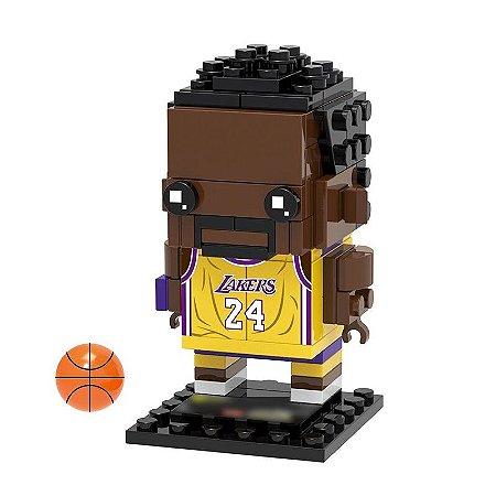 Bloco de montar Brickheadz Kobe Bryant 98 pçs (Lego Compatível)