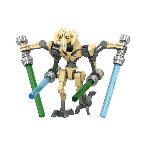 Boneco General Grievous Star Wars Lego Compatível (Edição Deluxe)