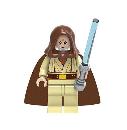 Boneco Obi-Wan Kenobi Star Wars Lego Compatível (Edição Especial EP IV)