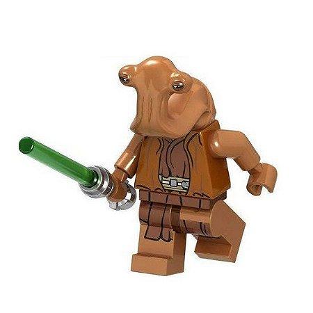 Boneco Mestre Jedi Ithorian Star Wars Lego Compatível