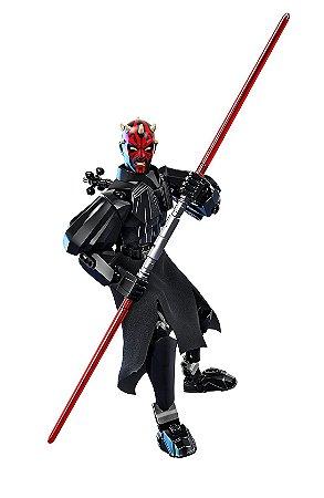 Boneco Darth Maul Star Wars Lego Compatível 26 Cm (104 Peças)