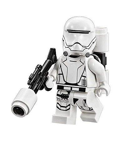 Boneco Flametrooper Star Wars Lego Compatível (Edição Especial)