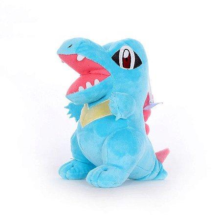 Pelúcia Totodile Pokémon 21 Cm