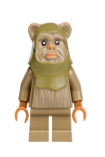 Boneco Ewok Star Wars Lego Compatível