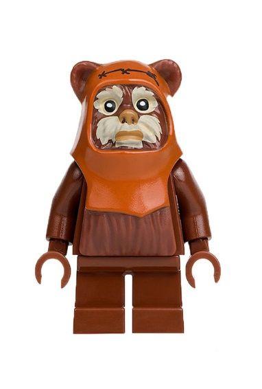 Boneco Wicket Ewok Star Wars Lego Compatível (Edição Especial)