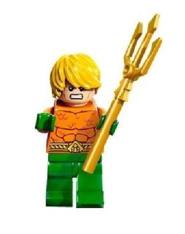 Boneco Aquaman Lego Compatível - Dc Comics (Edição Clássica)