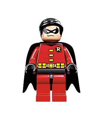 Mini Figura Compatível Lego Robin DC Comics (Edição Especial)