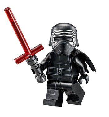 Boneco Kylo Ren Star Wars Lego Compatível