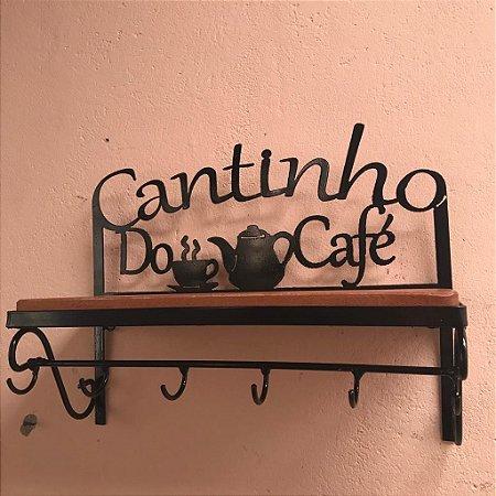Prateleira Cantinho do Café