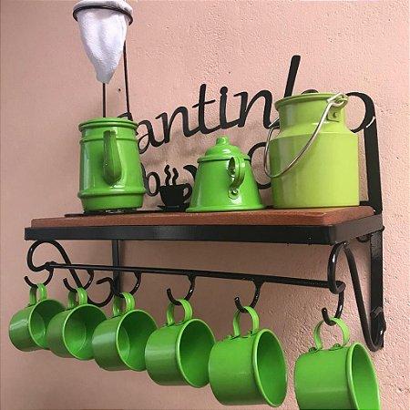 Kit Completo Cantinho do Café Verde