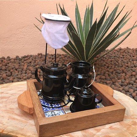 Mini Kit Cantinho do Café Preto