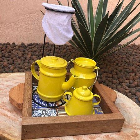 Mini Kit Cantinho do Café Amarelo