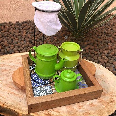 Mini Kit Cantinho do Café Verde