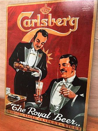 Quadro Decorativo de MDF Carlsberg
