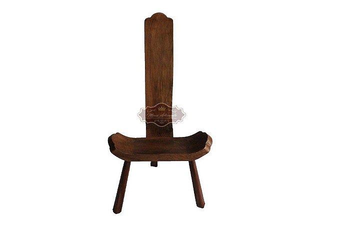 Cadeiras Bacalhau em Madeira de Demolição