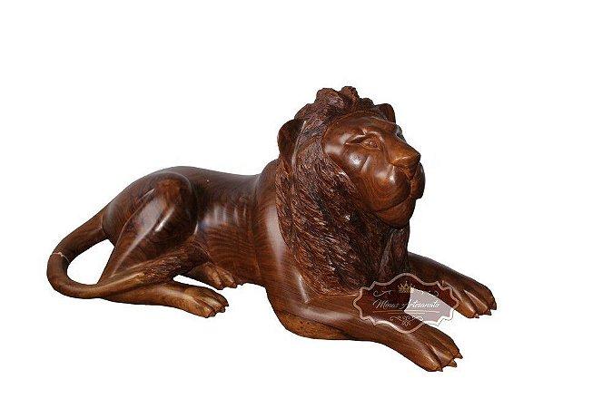 Leão Deitado em Angelim - 1 metro