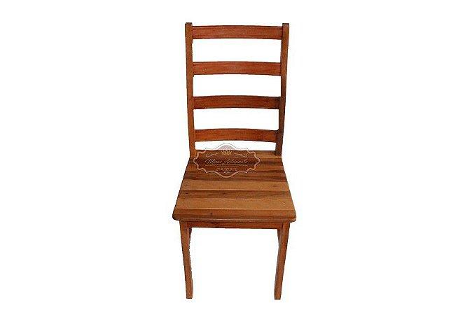 Cadeira Madeira de Demolição Super Anatômica